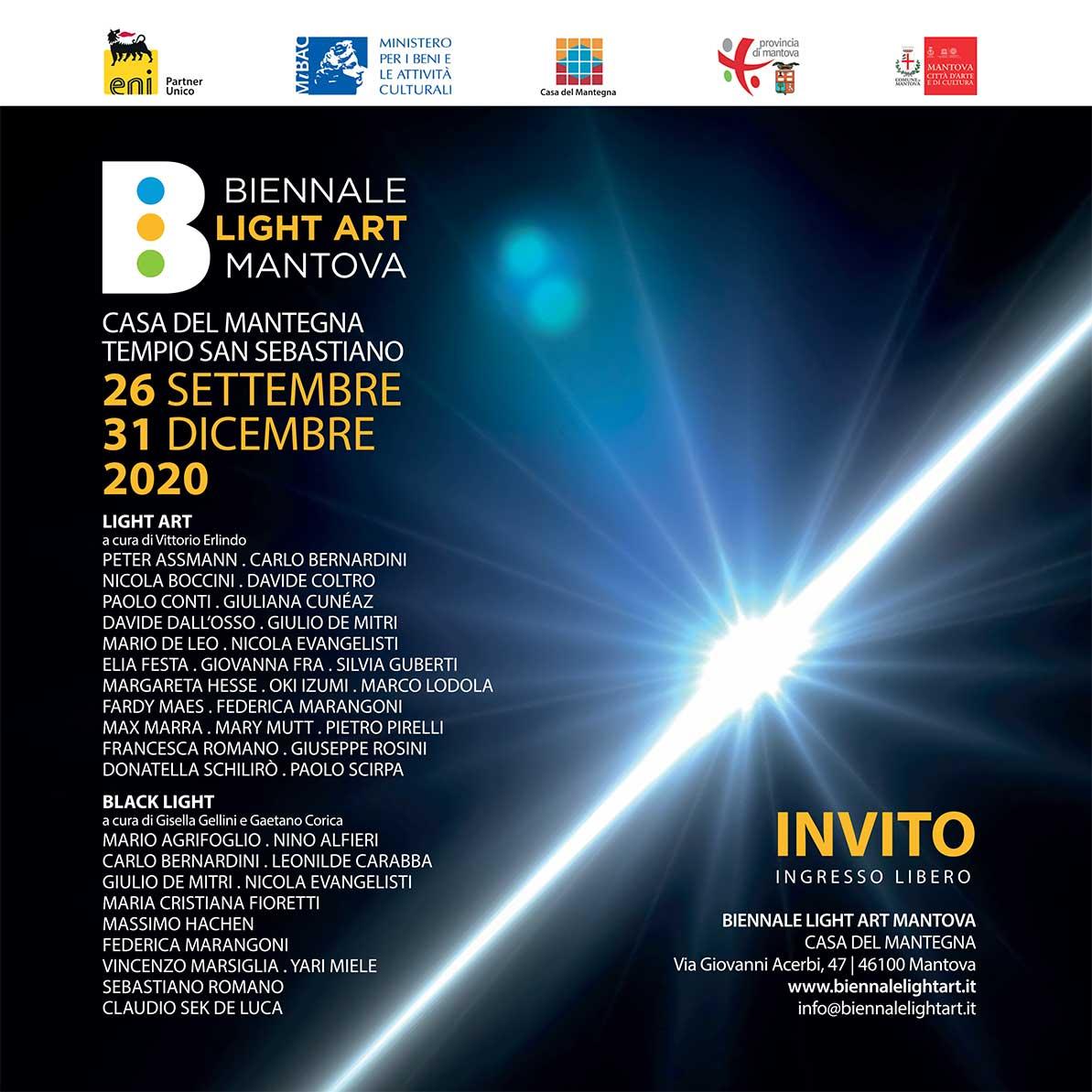 invito biennale light art 2020