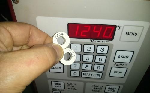 forno per ceramica calibrato