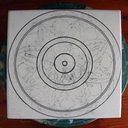 corsi di decorazione ceramica - filettatura in ceramica con torniella