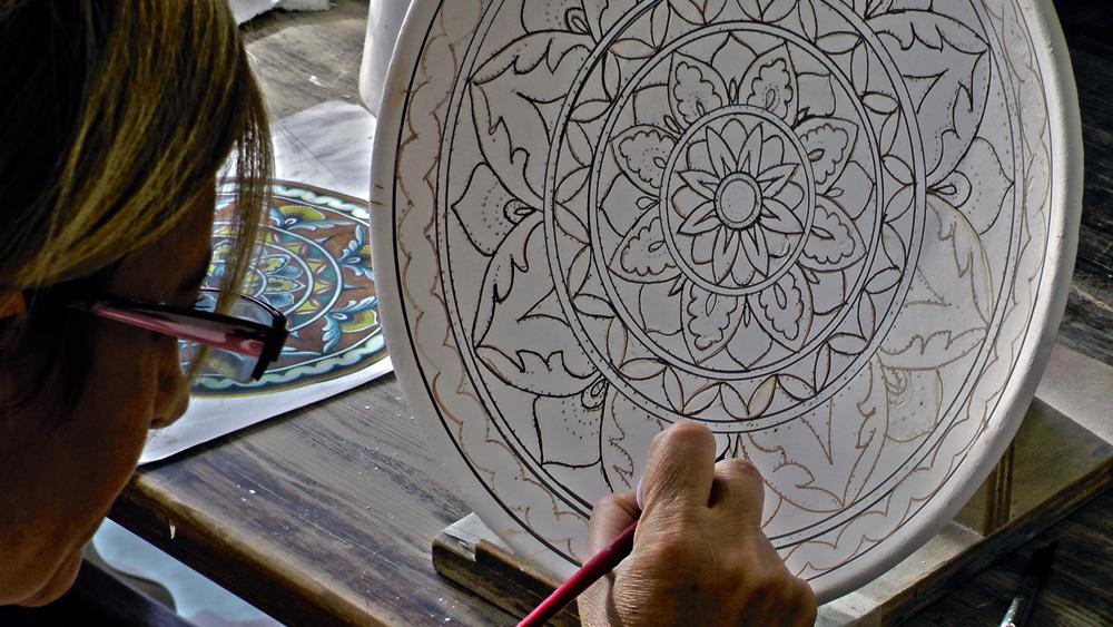 decorazione ceramica
