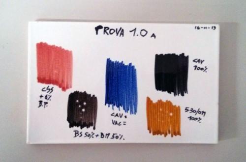 test colori per gres