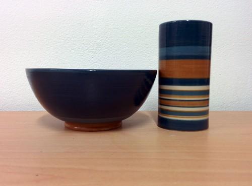 vaso e cilindro smaltati